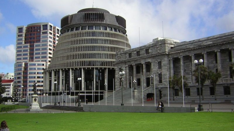 Bowen House, Beehive and Parliament