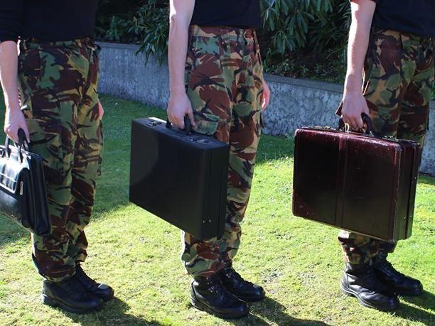 Camo Briefcase Warriors