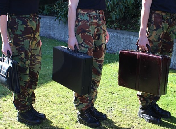 Camo Briefcase Warriors