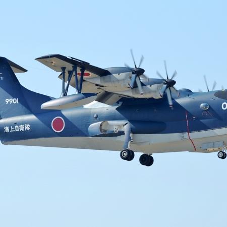 Japan ASDF ShinMaywa US-2 Amphibious Aircraft