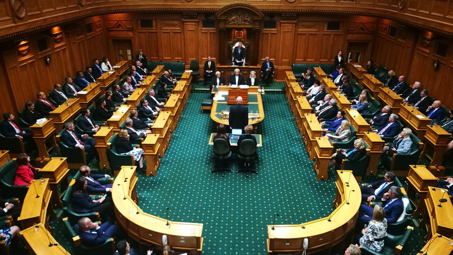 NZ Parliament Debating Chamber