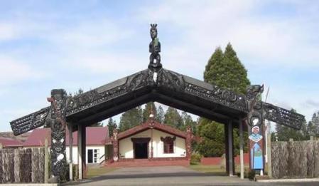 Rongomaraeroa-o-nga-hau e wha. NZ Army Marae Waiouru - Source NZDF