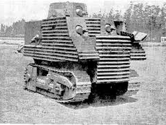 Bob Semple Tank Based on Tractor NZ WWII