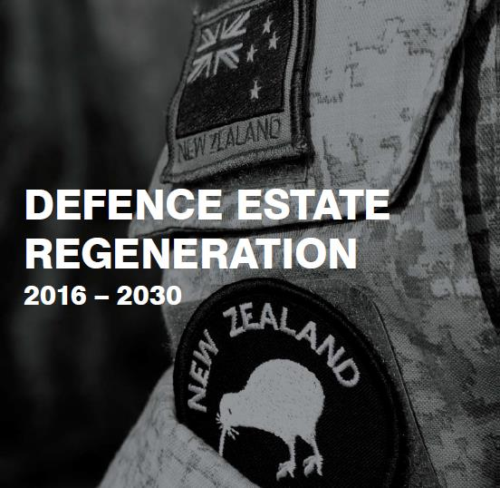 Defence Estate Regeneration Plan 2016-2030 Cover Page Picture - Source NZDF