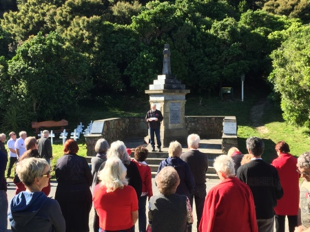 ANZAC Day Marlborough Sounds Memorial Service 2018