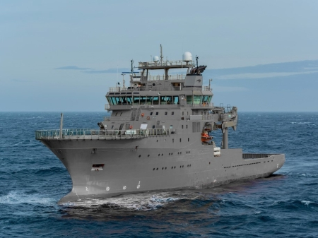 HMNZS Manawanui Before Commissioning - Source NZDF