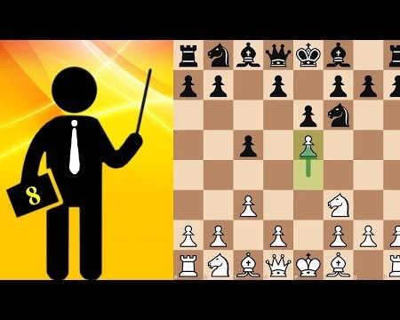 Sicilian Defence Chess Tactic