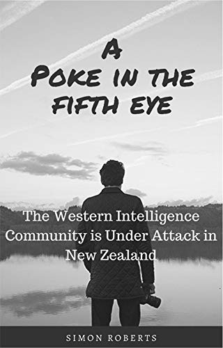 A Poke in the Fifth Eye by Simon Roberts. Book Cover. Available on Amazon Kindle