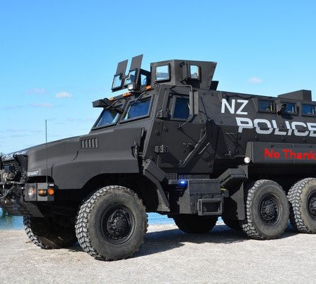 MRAP NZ Police Mockup