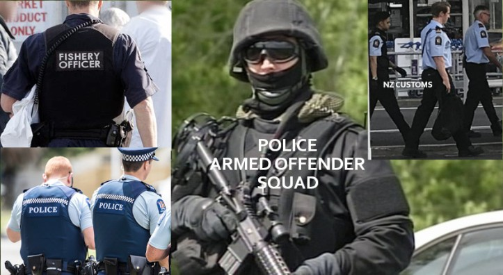 Various NZ Security Agency Uniforms