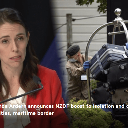Government boosts NZ Defence staff at managed isolation and quarantine facilities, maritime border - TVNZ Screenshot Credit