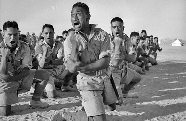 New Zealand 28th (Maori) Battalion Haka WWII