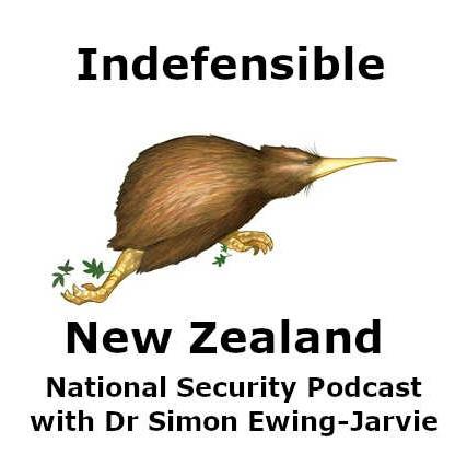 Indefensible New Zealand - National Security Podcast Logo