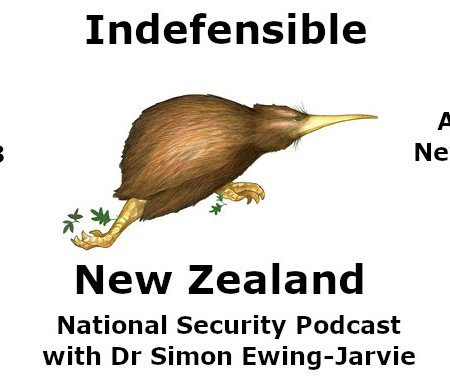 Indefensible New Zealand National Security Podcast Logo for S1E8