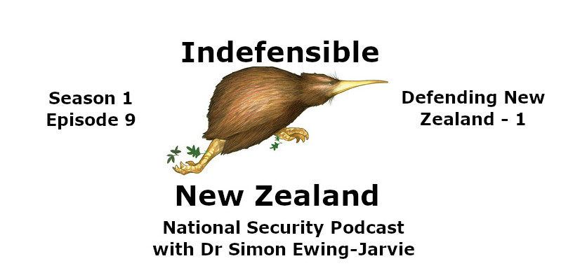 Indefensible New Zealand National Security Podcast Logo for S1E9 for LinkedIn 800x600